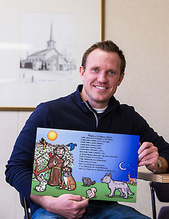 Wall launches Catholic children's book project on Ash Wednesday
